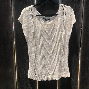 F21 knitted shirt